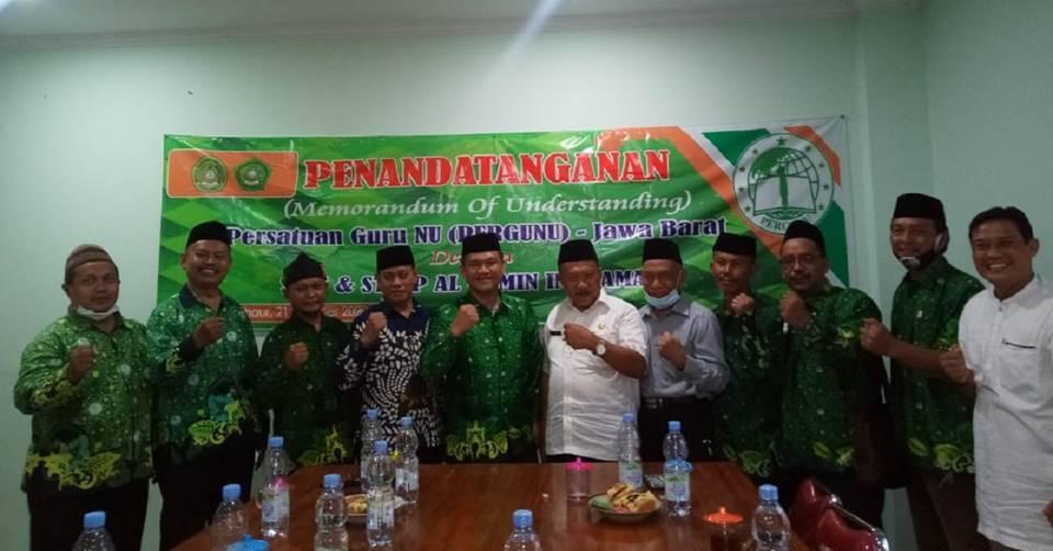 Tingkatkan Kualitas Pendidikan, STIT Al-Amin Indramayu Jalin Kerjasama dengan Pergunu